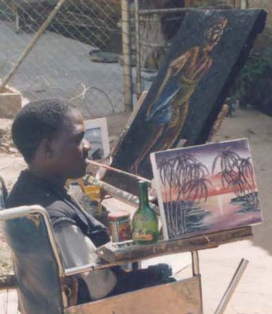 Painting With My Mouth fromMalawi